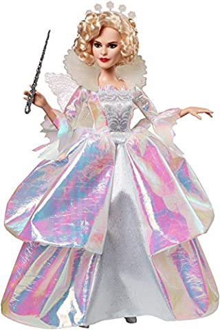 Disney Princess Cinderella Fairy Godmother - Deluxe 12 Inch Fashion Doll