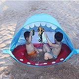 Strand Pop Up Zelt, PER Kinder Strandzelt UPF 50+ UV Schutz Sun Shelter Zelt, Tragbares Outdoor...