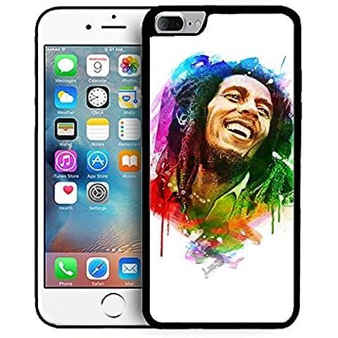 Iphone 7 Plus 5.5-pollice Étui pour téléphone Bob Marley Singer Iphone 7 Plus Custodia Case 5.5