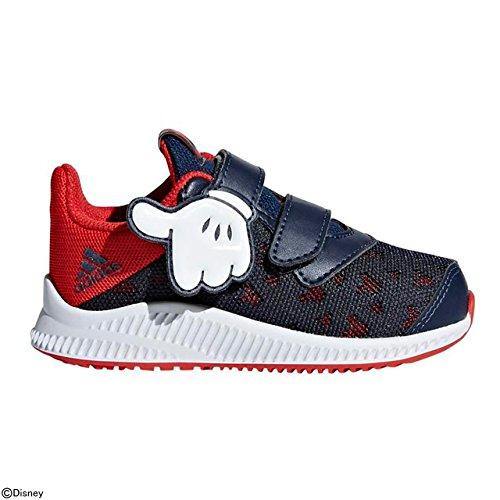 (ADIDAS Unisex Baby DY Mickey Fortarun Cloudfoam Sneaker, Rot (Scarle/Vivred/Ftwwht), 19 EU)