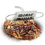YUEWO Stampo Ferro da Marchio per BBQ Barbecue Griglia con Lettere Intercambiabili Accessori per Barbecue Marchiare Grigliata di Carne Bistecca Hamburger