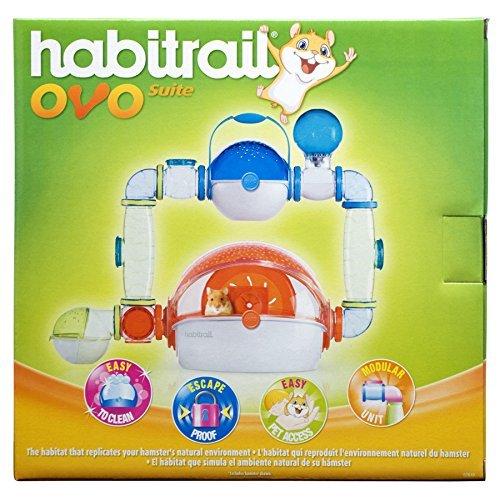 Habitrail Ovo Suite Hamster Habitat -