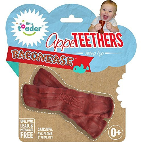 BPA-frei Zahnen Toys–baconease (Speck) appe-teethers, Modell: (Littles Speck)