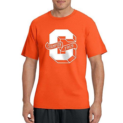 Champion - Maglietta sportiva - Maniche corte  -  uomo Spicy Orange/Letterman