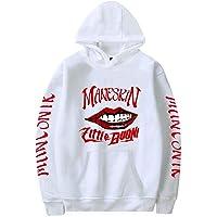 CQXSKWZ Maneskin Zitti E BUONI Merch Fans Felpa con Cappuccio Felpa per Uomo e Donna Abbigliamento Hip Hop