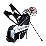 #2: TaylorMade NEW 2017 AeroBurner Black Graphite Golf Set - Right Hand - Regular Flex - 12 Clubs + Bag