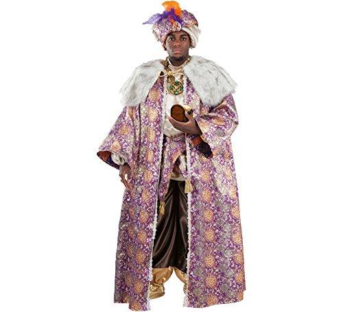 Disfraz o Traje de Rey Mago Baltasar Deluxe para Hombre