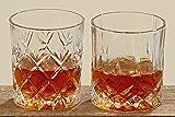 Whiskey-Glas H: 8cm Glas klar klar 2-fach sortiert 2-teilig
