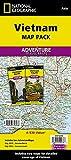 National Geographic Adventure Map Vietnam [Lingua Inglese]