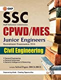 SSC CPWD - MES Civil Engineering (Junior Engg. Recruitment Exam) Includes Solved Paper 2013 - 2015