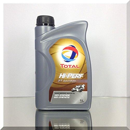 TOTAL-completamente-sintetico-racing-2T-Olio-per-motore-a-2-tempi-1-l-in-scatola-di-latta