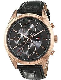 Tommy Hilfiger Herren-Armbanduhr Analog Quarz Leder 1791125