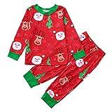 Beikoard Kleinkind Baby Jungen Mädchen Weihnachten Kleidungs Set Neugeborene Kleidungs Set Drucken Tops Hosen Outfit Heimservice Outfit Pyjamas Outfit