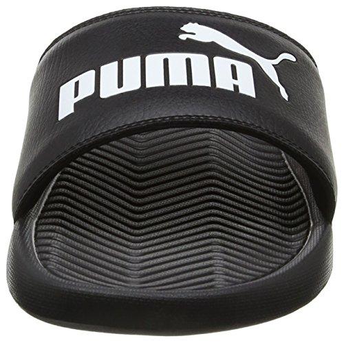 Puma Popcat, Sneakers Basses Mixte Adulte Noir (Black-black-white 10)