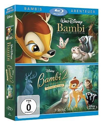 Bambi/Diamond Edition + Bambi 2/Special Edition [Blu-ray]