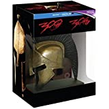 300 / 300: Rise of an Empire Collection - 3-Disc Box Set with Spartan Helmet Resin Statue
