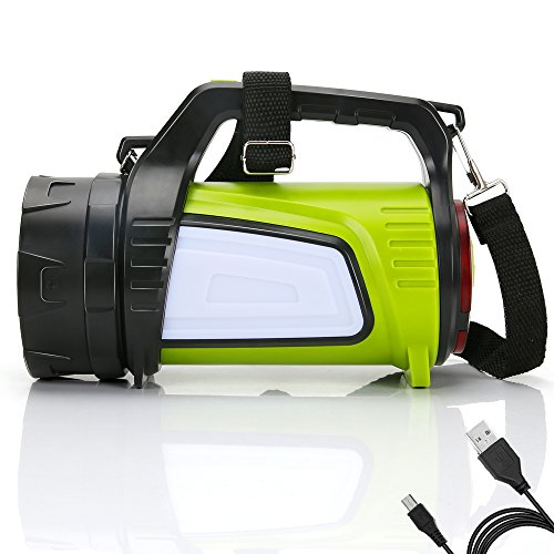 LED Campinglampe LED Handscheinwerfer, High Light Taschenlampen 3 Modi (939)