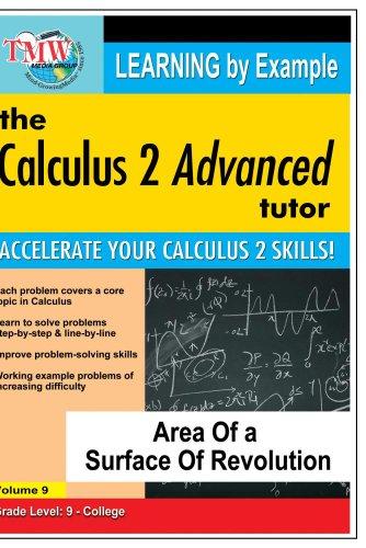 Preisvergleich Produktbild Calculus 2 Advanced Tutor: Area of a Surface f Revolution