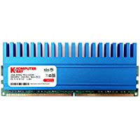 Komputerbay 2GB 240 Pin 800MHz PC2-6400/PC2-6300 DDR2 DIMM con Crown Series Heatspreader