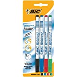 Bic Stylish Slim Velleda Whiteboard 4 Assorted Whiteboard Marker Pens