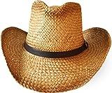 Cowboy Hut | Sommerhut | Strohhut Farbe Braun