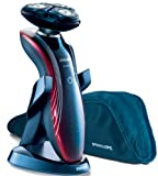 Philips SensoTouch RQ1180 GyroFlex 2D Rotary Rechargeable Shaver with Soft Travel Pouch