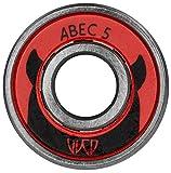 Powerslide ABEC 5 8er Pack Kugellager, Silber, 608