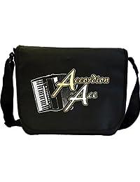 Accordion Ace - Sheet Music Document Bag Musik Notentasche MusicaliTee