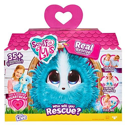 Scruff-a-Luvs Real Rescue- Pet Soft Toy - InteractiveFeature Plush