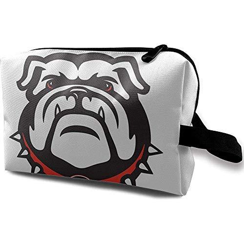 Reise-Kosmetiktasche Tragbare Handtasche Georgia Bulldogs Kulturbeutel Kleine Make-up-Taschen Fall Veranstalter -