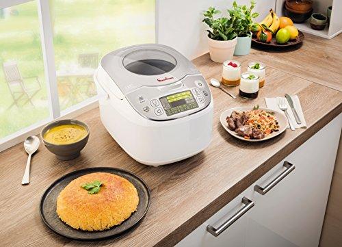 moulinex mk812101 multicuiseur traditionnel 45 en 1 5 6 personnes argent 5l cuisine maison. Black Bedroom Furniture Sets. Home Design Ideas