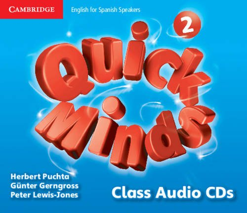 Quick Minds Level 2 Class Audio CDs (4) - 9788483235041
