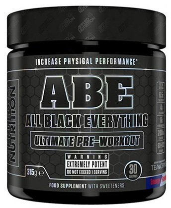 Applied Nutrition A.B.E. Pre-Workout Booster Trainingsbooster Bodybuilding 315g (Cherry Cola - Kirsch Cola)