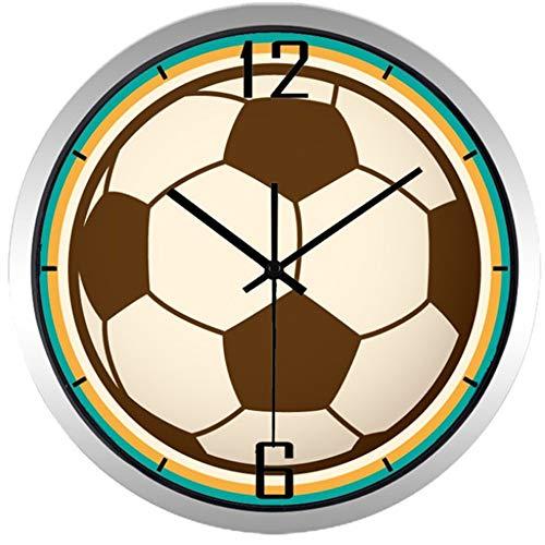 Fußballwanduhr 30,5 cm,