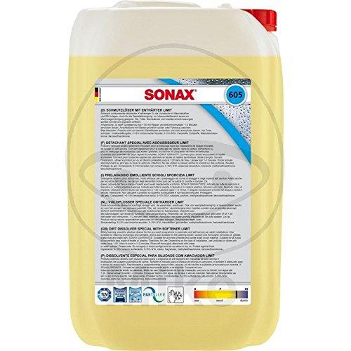SONAX 605705 SchmutzlãSer/Werkstattreiniger mit Enthã¤Rter 25 l