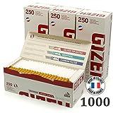 Boite de 250 tubes Gizeh Silver Tip avec filtre X 4