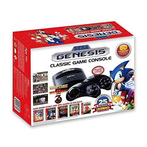 Sega FB8280B Genesis Gioco console con 80 giochi,Antracite