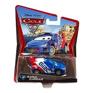 Disney Pixar Cars 2 – Raoul ÇaRoule – Voiture Miniature Echelle 1:55 – N°9 (W1951)