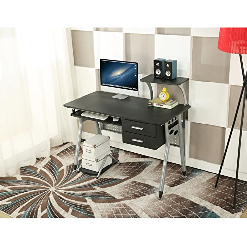 ebs-computer-home-office-desk-with-sliding-keyboard-2-drawers-desktop-tray-pc-table-workstation-110-