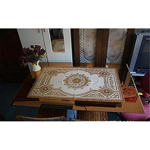 Tavolino mat colore Bronzing tappeto in PVC tovaglia impermeabile tabella 60 * 100 centimetri caffè , a , 60*100cm