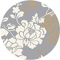 Bath Time Flagship Store LUYIASI- Teppich Einfache Moderne Mode Wohnzimmer Schlafzimmer Nachttisch Runden Teppich Non-Slip Mat (Farbe : C, Größe : 200cm)