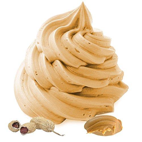 Erdnuss-Butter Frozen Yogurt Geschmack Gino Gelati Frozen Joghurt Pulver (1 kg) -