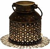 #10: Vibgyor Vibes Beautiful hanging rustic Vintage Tea light Holder Lantern for living room and home Decor