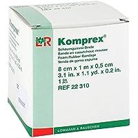 KOMPREX Schaumgummi Binde 1mx8cm St.0,5cm, 1 St preisvergleich bei billige-tabletten.eu