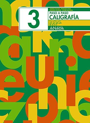 Caligrafía 3 (Paso a paso) por Andrea Pastor Fernández