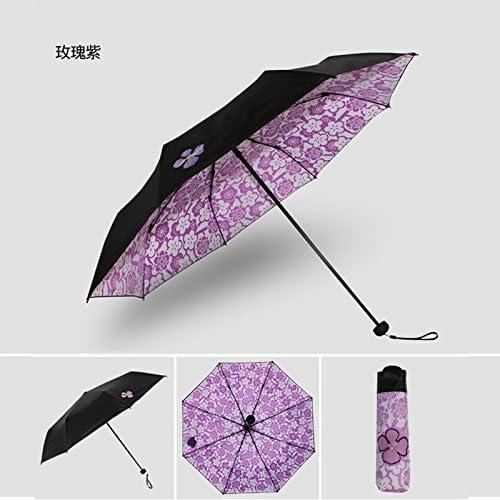 SFSYDDY Sun Sun Sun Umbrella Sun Umbrella Uv Prossoection nero Glue nero Umbrella Folding Sunny Umbrella Seventy Percent Off Sun Umbrella.viola B07DBNP47Y Parent | Terrific Value  | Nuovo design diverso  | Design ricco  | Prestazioni Superiori  2b3beb