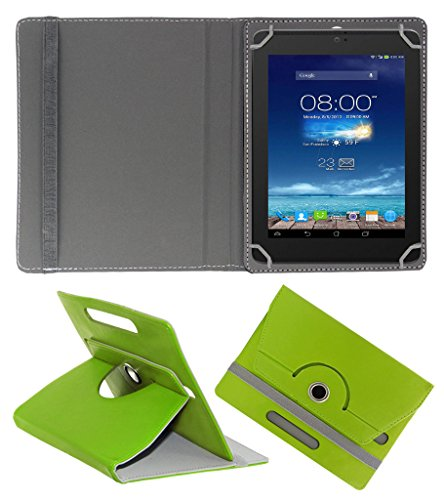 Acm Rotating 360° Leather Flip Case For Digiflip Pro Xt801 Tablet Cover Stand Green  available at amazon for Rs.159