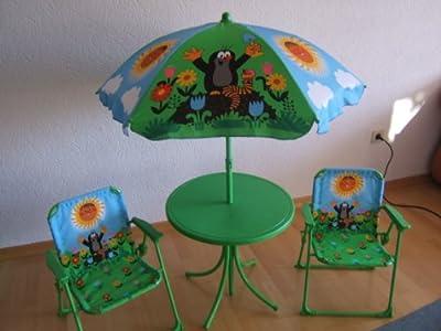 """""""Der kleine Maulwurf"""" Gartengarnitur für Kinder, 4-teilig von Wiky - Gartenmöbel von Du und Dein Garten"""