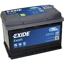 Exide Excell EB740 74Ah Autobatterie wartungsfrei (einbaufertig)
