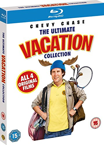 NATIONAL LAMPOON'S ULTIMATE VACATION COLLECTION REGION-FREE BLU-RAY 4-DISC SET (Vacation Collection Ultimate)